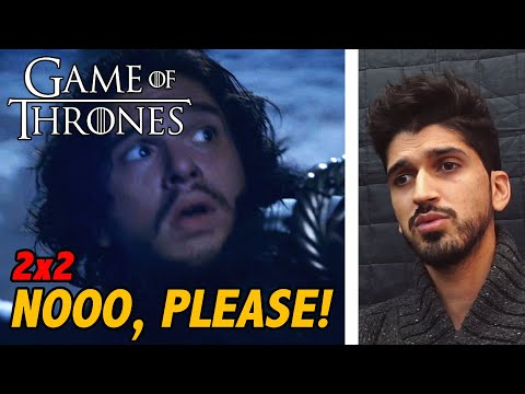 Game Of Thrones Season 2 Episode 2: The Night Lands | REACTION/REVIEW | *First Time Watching*