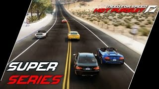 NFS: Hot Pursuit (2010) Playlist: https://www.youtube.com/playlist?list=PLi-a_-JYhWjsi7Zt9vGoZFpXuI0uUhBd4* Super Series- Avalanche (01:26)• The Seacrest Police aren't going to take your repeat offences lying down - expect to see them fielding faster response units with upgraded equipment.• Used ride: Dodge Viper SRT 10 'Final Edition'- Racing Stripes (08:56)• The Lamborghini Gallardo Valentino Balboni and Ford Shelby GT500 Super Snake are dueling on the tricky mountain roads of Eagle Crest. With so much power going through the rear wheels and some very tight turns only the best drifters will prevail.• Used ride: Ford Shelby GT500 Super Snake- Stampede (16:14)• You're going to need a fast, agile car to avoid the ordnance that the cops have been equipped with. Fortunately the Lamborghini Gallardo - in all its guises - is just the job!• Used ride: Lamborghini Gallardo LP560-4- Ultimately Open (21:53)• Lamborghini offer you the opportunity to experience one of the most exclusive cars ever made. The Reventón Roadster is a car of breathtaking fascination, menacing power and uncompromising performance.• Used ride: Lamborghini Reventón Roadster- No Substitute (25:05)• Be the first to the finish in your choice of the Porsche 911 GT3 RS, Porsche 911 Turbo S Cabriolet and Porsche 918 Spyder.• Used ride: Porsche 911 Turbo S Cabriolet- Power Trip (29:30)• Experience the unbridled ferocity of the Mercedes-Benz SL65 Black Series and the Aston Martin V12 Vantage as you go head-to-head along the busy freeways to the south of Seacrest County.• Used ride: Mercedes-Benz SL65 AMG Black Series- V12 for Victory (33:41)• Sharing the same 6.0 litre V12, these Aston Martins have the heart to perform. Prove you can master these powerful supercars with a timed run along Grand Ocean Road.• Used ride: Aston Martin DBS Volante- Coast to Coast (36:34)• Choose your favorite convertible supercar and enjoy the view while racing through the farmland of Seacrest County at speeds of over 200 mph. • Used ride: Chevrolet Corvette Grand Sport- Timed Machine (42:58)• Use the traffic to your advantage as you take the Mercedes-Benz SLS AMG, a classic of tomorrow, on a foot to the floor drive along East Gorge Freeway.• Used ride: Mercedes-Benz SLS AMG- Blacklisted (46:49)• Your recent exploits have got the attention of the county sheriff. He's unhappy with how you've been treating his deputies, and will use all the tools at his disposal to stop you in your tracks.• Used ride: Mercedes-Benz SL65 AMG Black Series- Sand Timer (52:31)• Can you reach the Bugatti Veyron 16.4 Grand Sport's top speed of 407 kph as you drive it from the sands of Mission Beach, along Hope Canyon Freeway and into the desert?• Used ride: Bugatti Veyron 16.4 Grand Sport- Trail of Destruction (57:17)• Can anything stop the monstrous Nissan GT-R SpecV as it leaves a trail of destruction through the heart of Seacrest County.• Used ride: Nissan GT-R SpecV- Sun, Sand and Supercars (1:02:07)• Out of the shimmering heat-haze of Boulder Desert appear eight of the hottest supercars on the planet. To survive out here against these racers you're going to need to stay cool and push them all the way.• Used ride: Audi R8 Spyder 5.2 FSI quattro- Unreasonable Force (1:06:48)• Rumor has it that an elite unit has been deployed to shut you down. Expect no quarter.• Used ride: Porsche 911 GT3 RS- Heart to Heart (1:13:28)• The same 5.2 litre V10 is used in both the Audi R8 Spyder 5.2 FSI quattro and the Lamborghini Gallardo LP560-4 Spyder. There'll be no love lost as these two convertible supercars go head-to-head along these breathtaking coastal roads.• Used ride: Lamborghini Gallardo LP560-4 SpyderUsed device: KeyboardRecording Software: Shadowplay (NVIDIA GTX 760)Video Editing Software: Adobe Premiere Pro CS6