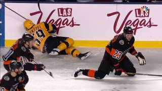 Manning lays out Guentzel with crushing hit to head by Sportsnet Canada