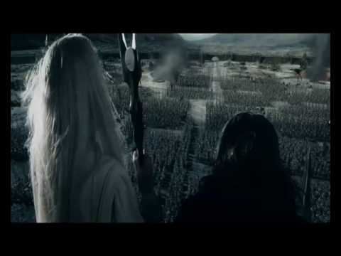 saruman - The speech of Saruman to his Army of Uruk-Hai out of