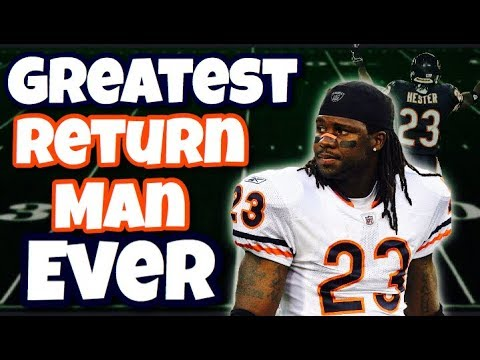 """Meet the GREATEST """"Return Man"""" Of All Time"""