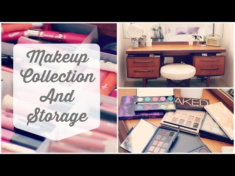 collection - My Makeup Collection & Storage 2014 *CLICK LINKS BELOW IF YOU ARE WATCHING ON A PHONE OR TABLET TO OPEN DRAWERS OF YOUR CHOICE AND HAVE A GOOD OLD SNOOP* My Palettes - https://www.youtube.com/watc...