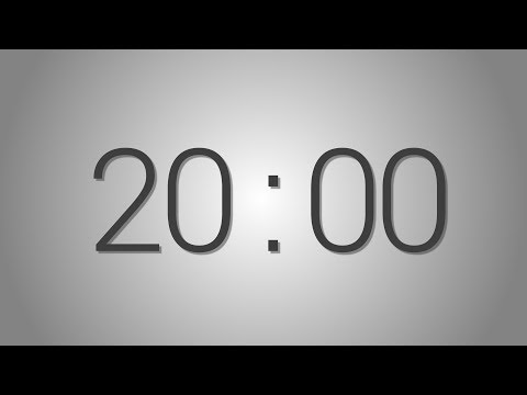 Video 20 Minutes countdown Timer - Beep at the end   Simple Timer (twenty min) download in MP3, 3GP, MP4, WEBM, AVI, FLV January 2017