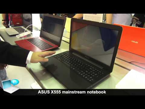 ASUS X555 mainstream notebooks with Intel Haswell and Broadwell CPUs