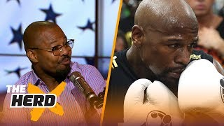 'Sugar' Shane Mosley explains why McGregor will struggle to compete with Mayweather | THE HERD