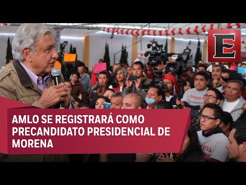López Obrador pide a adversarios recorrer municipios