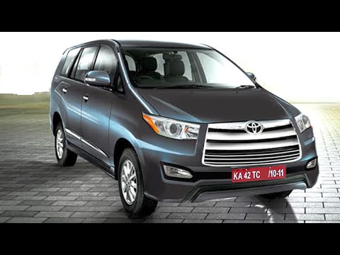 New Toyota Innova Facelift 2015