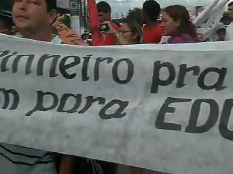 Professores de Laranjal do Jari reivindicam o pagamento do Piso Nacional
