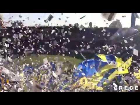 Fiesta en el Gigante. Central 0 - Estudiantes 0. Torneo Final 2014