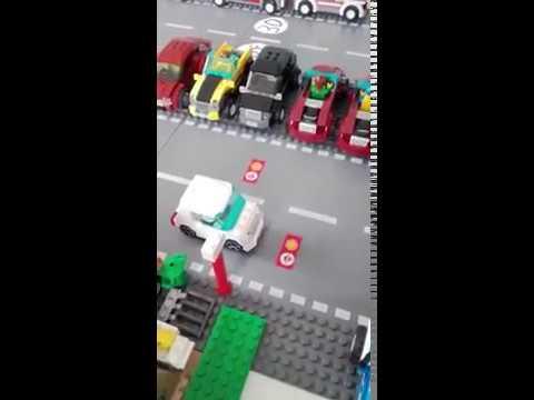 Lego Car to Restaurant