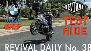 6. Alan test rides the new BMW Urban GS // Revival Daily No. 38