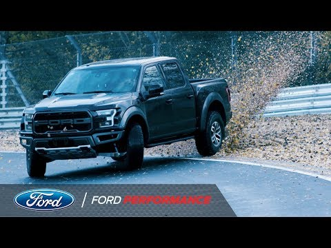 Vaughn Gittin Jr. Drifts Nurburgring in Ford Raptor | Ford Performance