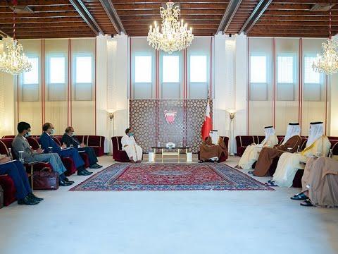 سمو ولي العهد رئيس مجلس الوزراء يلتقي معالي السيد ف. موراليدهاران وزير الدولة للشؤون الخارجية في جمهورية الهند