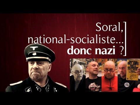 SOCIALISME - Synthèse de quelques interventions mensuelles d'Alain Soral sur le national-socialisme et la période nazie, notamment sous ses aspects économique, historique...