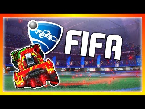 This is the best game mode in Rocket League... (Rocket League + FIFA)