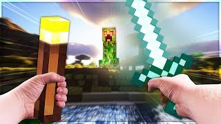 Creepers In Minecraft VR Are TERRIFYING