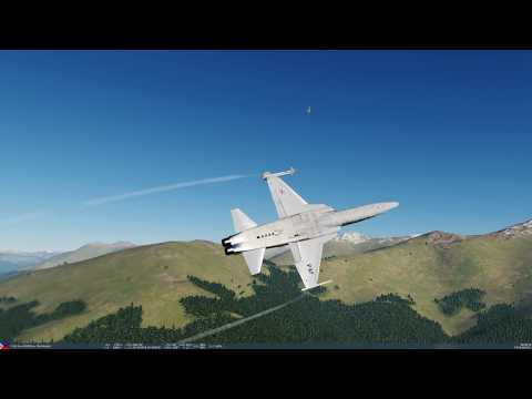 DCS World. StarVenger in a Northrop...