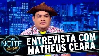 Sim, o recordista de entrevistas do The Noite está de volta. Danilo recebe o humorista, e agora cantor, Matheus Ceará. Veja mais...