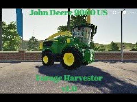 John Deere 9000 US Forage Harvestor v1.0