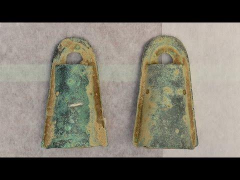 松帆銅鐸に「舌」 CTで収納状態初確認 南あわじ