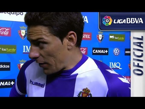 Interview Oscar post Osasuna (0-0) Real Valladolid - HD