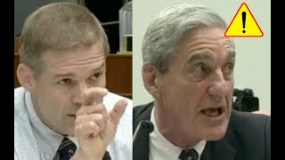 Jim Jordan Makes Robert Mueller Nervous and TURN RED For Not Knowing Facts in Serious Investigation!