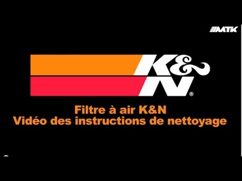 comment nettoyer filtre a air kn moto