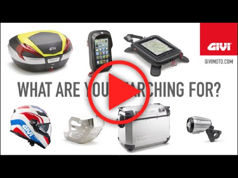 Are you sure that accessory you are searching hard for is not part of the GIVI range? Do you have an idea of how many products, different from each other, bear the logo of the Company? Does GIVI come to mind as the brand that sells bags, soft bags and motorcycle helmets? If we instilled you with any doubts... The correct answers can be found here
