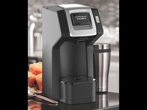Unboxing/Review Hamilton Beach FlexBew SingleServe Coffee Maker