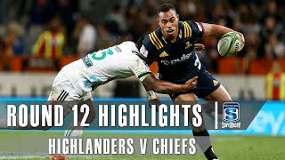 Highlanders v Chiefs Rd.12 2019 Super rugby video highlights | Super Rugby Video Highlights