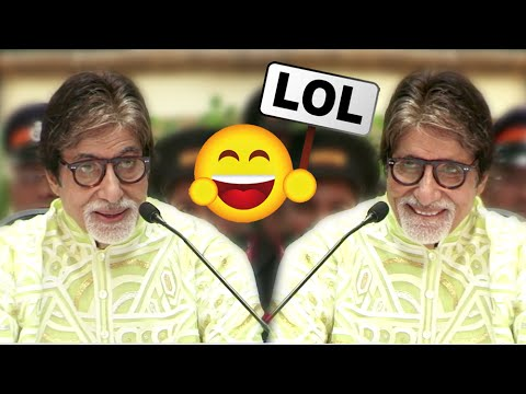 FUNNY Moments Of Amitabh Bachchan - MUST WATCH