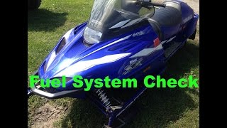 6. Resurrecting a 1999 Yamaha V-Max 600 SX Snowmobile Part 1