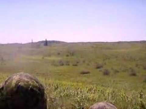 Canadian Machine Gun on Target
