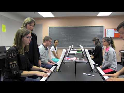 Natalie Doughty Group Piano Teaching: Jmu Advanced Keyboard Skills, Fall 2016