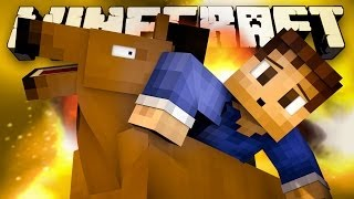 THE HORSE ARENA! (Minecraft Battle-Arena Express with Woofless, Lachlan and Preston!)