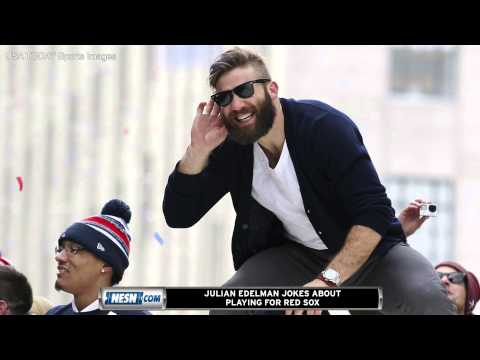Video: Julian Edelman Jokes About Joining Red Sox On April Fools