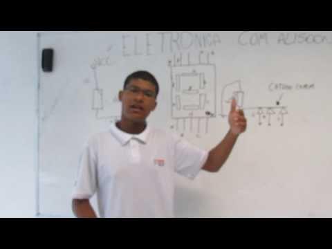 Display 7 segmentos - Mais uma tele aula, na qual estou exemplificando e descrevendo o funcionamento de um Display de 7 Segmentos, juntamente com seus dois tipos, ANODO COMUM e CA...