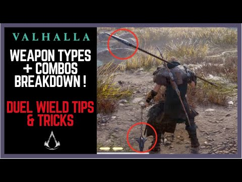 Assassin's Creed Valhalla WEAPON COMBOS BREAKDOWN. Best Dual Wield Valhalla Combat Tips