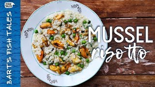 Risotto with MUSSELS Recipe | Bart van Olphen by Bart's Fish Tales