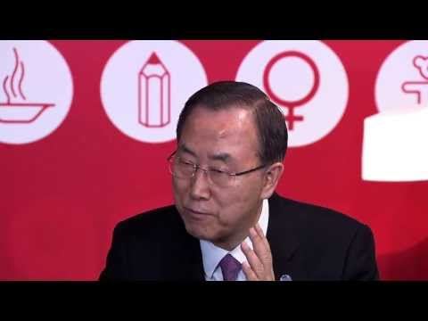 mcampaign - Madrid (Spain), 4 April 2013 - UN Secretary-General Ban Ki-moon met young people from the Spanish and European Youth Councils to mark the One Thousand days l...