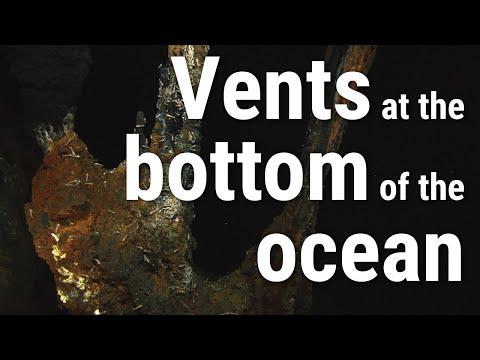 Co to jsou hydrotermální průduchy?