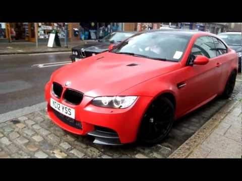 What Do You Think Of This Bmw M3 Wrapped In Velvet Bmw 4 Series