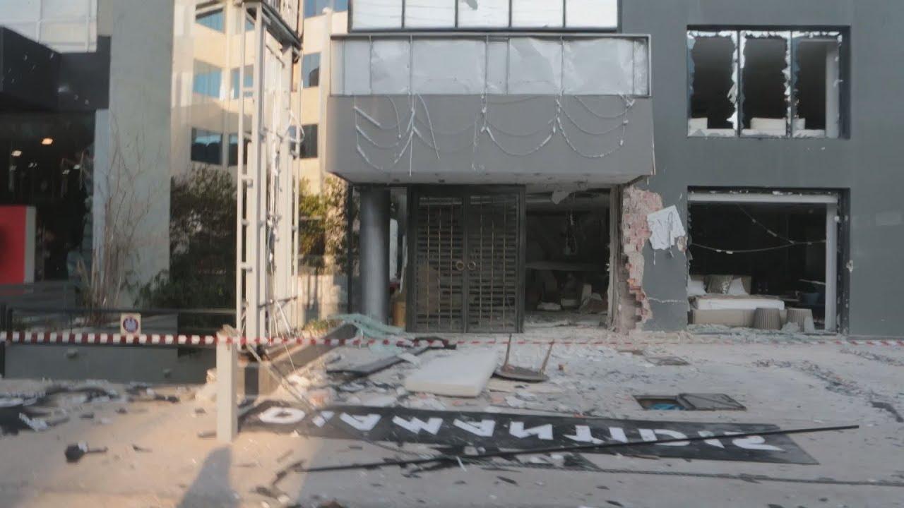 Έκρηξη τα ξημερώματα σε κατάστημα στο Μαρούσι