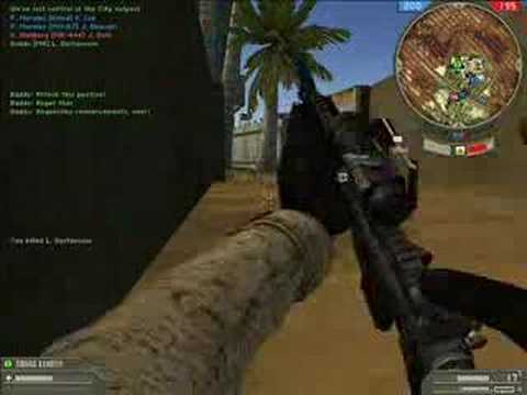 Battlefield 2 - Demonstration from the IN GAME of Battlefield 2.