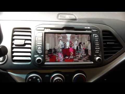Màn hình DVD cho xe Kia Morning, đầu DVD cho xe Kia Morning
