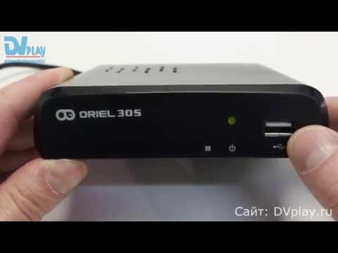 Oriel 305 - обзор DVB-T2 ресивера