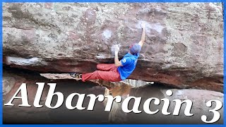 Albarracin Bouldering 3 - First Snow, First 7B by The Climbing Nomads