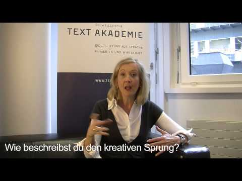CAS Texter / CAS Texterin: Rita Capiaghi, Studentin