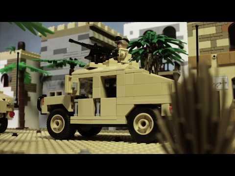 Лего фильм война в Ираке - трейлер (Lego war in Iraq trailer) (видео)