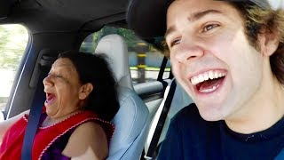 We took our housekeeper for a very speedy joy ride in the Tesla Model X around the neighborhood, Liza tells me about our relationship! Dom talks to me about vidcon. Bignik wants to quit youtube!BUY THE BRAND NEW MERCH AND TWEET A PIC AT ME WITH IT:https://fanjoy.co/collections/david-dobrik WATCH MY NEW HOUSE TOUR HERE: https://www.youtube.com/watch?v=C4yECzFCdZk&t=26s  GO SUBSCRIBE TO OUR NEW PODCAST: https://itunes.apple.com/us/podcast/views-with-david-dobrik-and-jason-nash/id1236778275?mt=2 Comment how much you love our bunny if you read thisADD ME ON SNAPCHAT TO BE INVITED TO OUR HOUSE NEXT: @DavidDobrikThanks for watching :) Throww it a like if you like throwing stuff!Turn my notifications on these to be the next shoutout!!Twitter: @DavidDobrikInstagram: @DavidDobrikSnapchat: @DavidDobrikVine: @DavidDobrikMusically: @DavidDobrikBusiness email: daviddobrikbusiness@gmail.comOther people in the video:Liza- Twitter; @lizakoshy Instagram; @lizakoshy Snapchat; @lizakoshysnapsJosh Peck- Instagram: @shuapeck Twitter: @Itsjoshpeck Snapchat: @joshuapeckSeth - @whois_sethJack Dytrych: Twitter: @BigJuicyJack Instagram: jdytrych22Cailee: Twitter/Instagram: @CaileeRaeMusicCorinna- Twitter/Instagram: @CorinnaKopfJason Nash- Twitter and Instagram; @JasonNashBignik- Twitter: @BigNik Instagram: @RealBigNik Snapchat; @BignikVineHeath- Twitter; @HeathHussar Instagram; @HeathHussar Snapchat; @HeathHussarAlex Ernst- Twitter; @AlexErnst Instagram; @Ernst Snapchat; @AlexErnstThe Gabbie Show- Twitter; @TheGabbieShow Instagram; @TheGabbieShow Snapchat; @TheGabbieShowZane- Twitter; @Zane Instagram; @Zane Snapchat; @ZaneHijaziScottysire- Twitter; @imnotscottysire Instagram; @VanillaDingDongToddysmith- Twitter; @todderic_ Instagram; @todderic_Dom: Twitter/Instagram: @DurteDomLindsey: @lindseygrollJulia Abner- Instagram; @JuliaAbnerCarly incontro- Twitter/Instagram: @CarlyIncontroMatt King - Twitter/Instagram/Snapchat: @MattRKingErin Gilfoy- Twitter and Instagram: goddess_eriu Snapchat: erin_gilfoyDom: Twitter/Instagram: @DurteDomElton Castee- Twitter; @EltonCastee, Instagram; @EltonCasteeBrandon Calvillo- Twitter; @BJCalvillo Instagram; @BJCalvillo Snapchat; @BJCalvilloMeghan McCarthy- Twitter: @MeghanWMcCarthyJcyrus snapchat: @Jcyrusvine